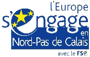 Logo de l'Europe s'engage financeur de l'Ecole 2e Chance (E2C) Grand Hainaut